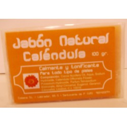 Jabón Natural de Caléndula