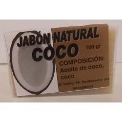 Jabón Natural de Coco