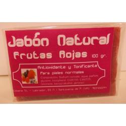 Jabón Natural de Frutas Rojas