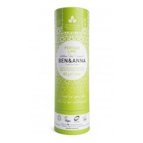 Desodorante de bicarbonato, Persian Lime, 60g BEN&ANNA