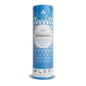 Desodorante de bicarbonato, Pure, 60g BEN&ANNA
