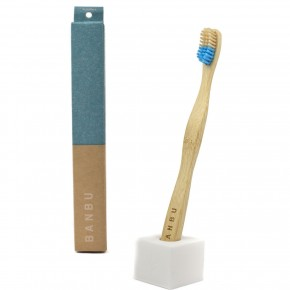 Cepillo de dientes de bambú duro
