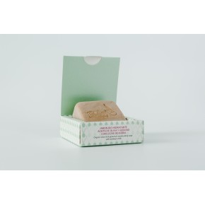 Jabón hidratante y reafirmante BIO con Aceite de oliva y Geranio