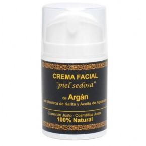 "Crema Facial de Argán ""piel sedosa"" EQUIMERCADO"