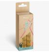 Pajitas de papel estilo bambú