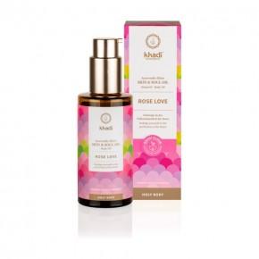 KHADI Aceite ayurveda elixir rosa-regenerante