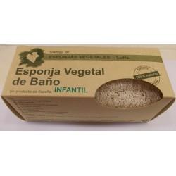 Esponja Vegetal de Baño - Luffa Infantil