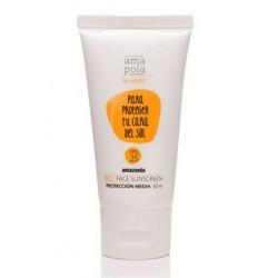 Hidratante facial con protección media- SPF 25