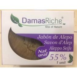 Jabón de ALEPO 55 %