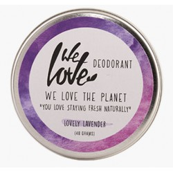 Desodorante Natural en Crema de Lavanda